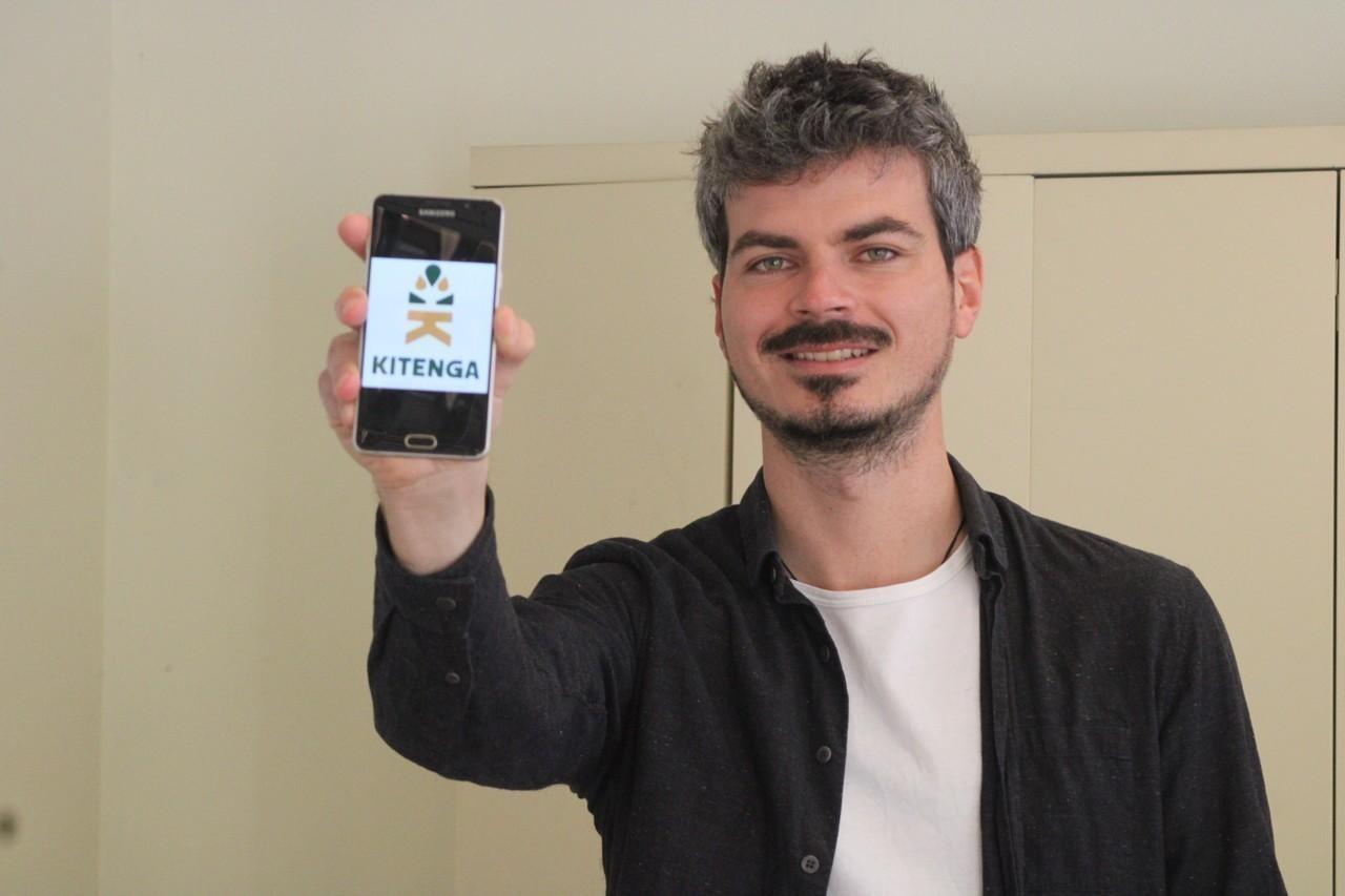 Quimper : il développe l'application Kitenga pour rendre la transition écologique à la portée de tous