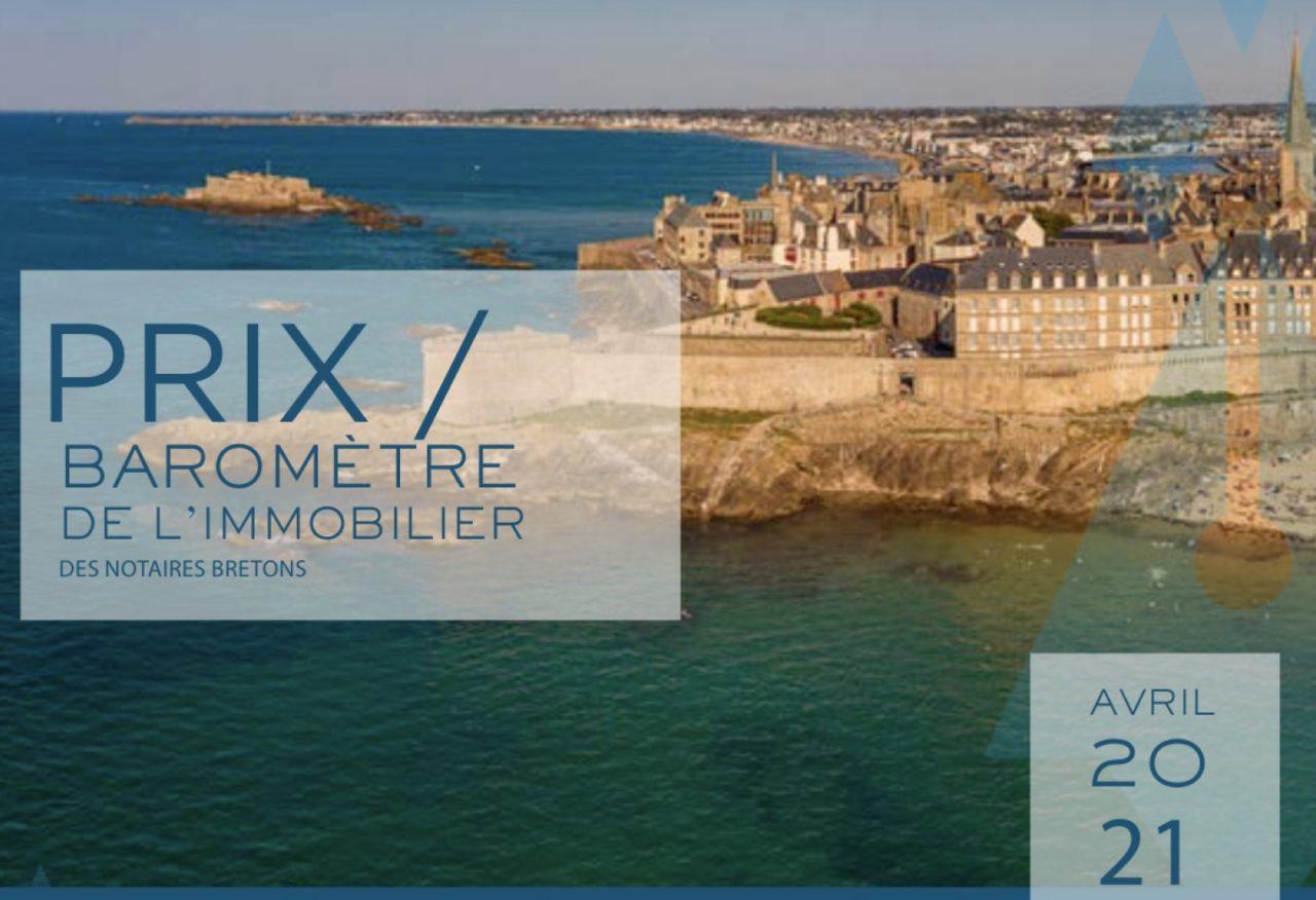 Le Baromètre de l'immobilier des notaires bretons