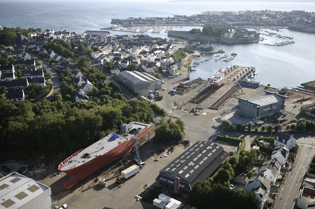 Construction navale. Année record pour Concarneau