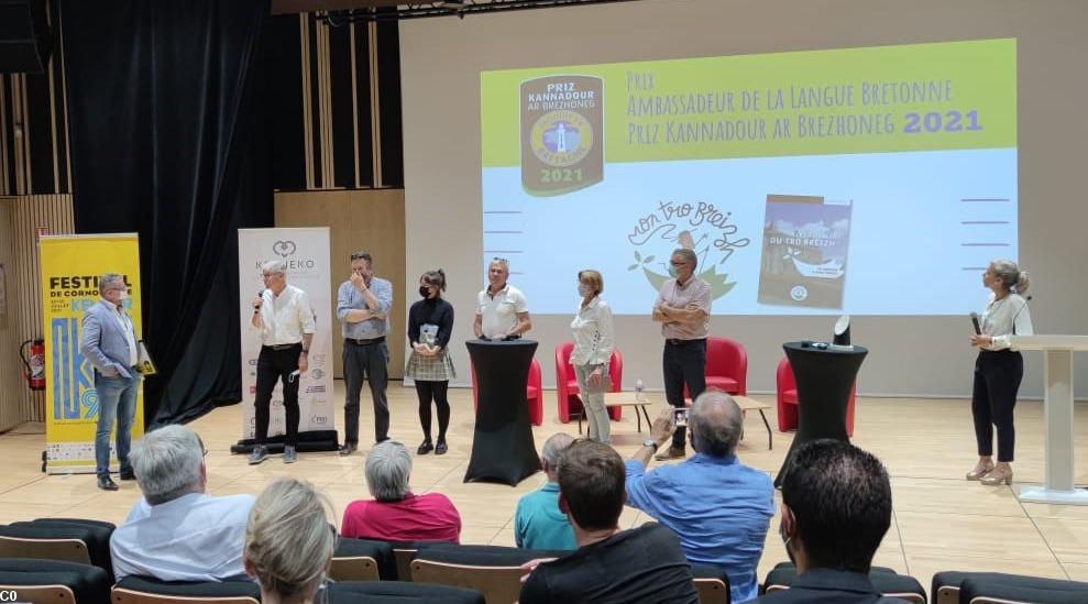 Mon Tro Breizh lauréat du prix langue bretonne de Produit en Bretagne