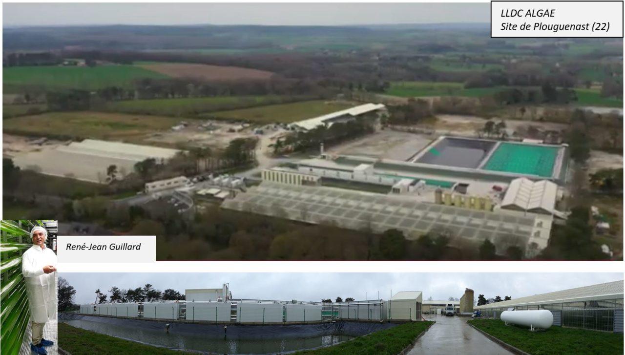 Lldc Algae : la plus grande ferme de micro algues d'Europe est à Plouguenast (22)