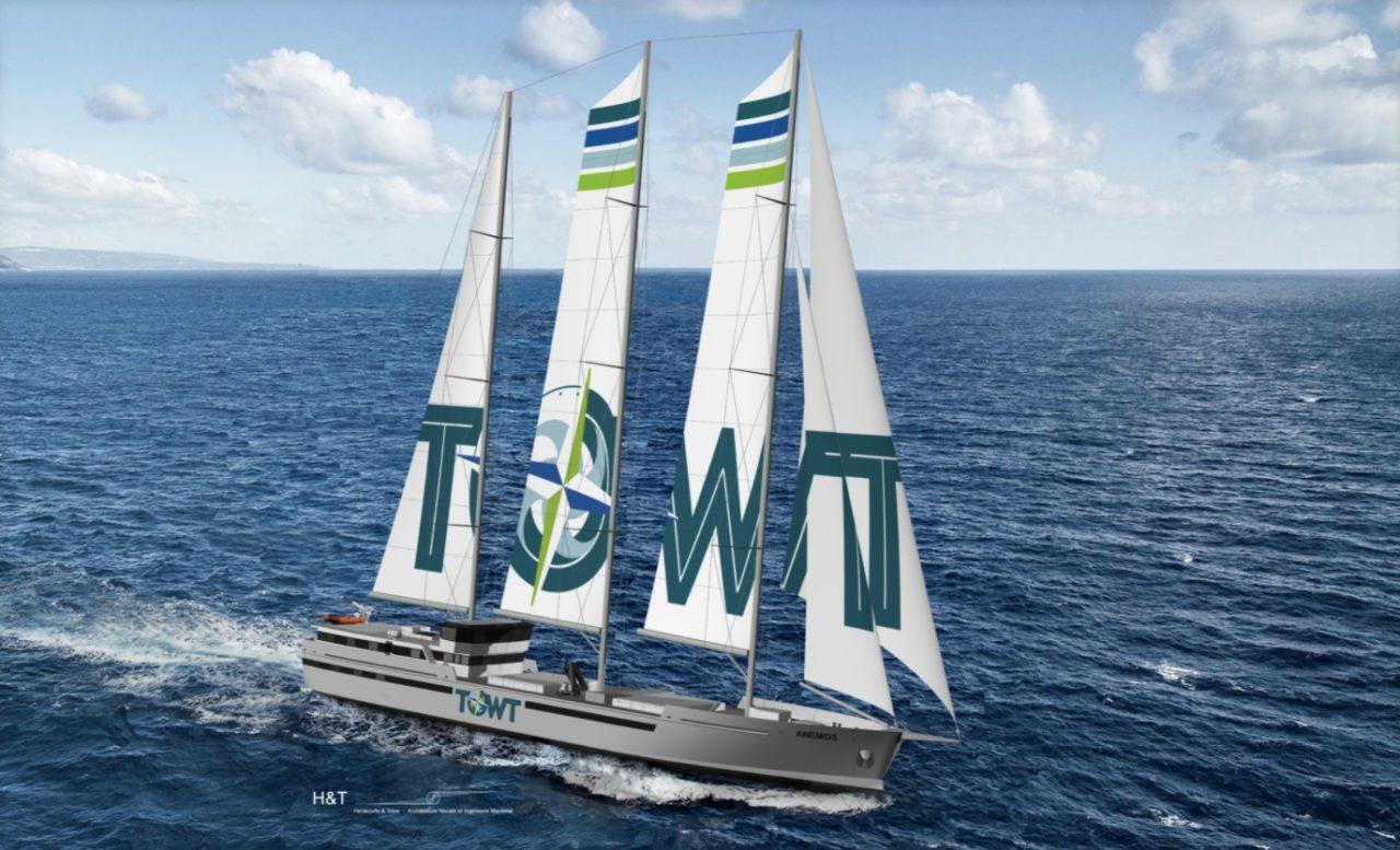 Towt (Douarnenez) vogue vers son premier voilier-cargo