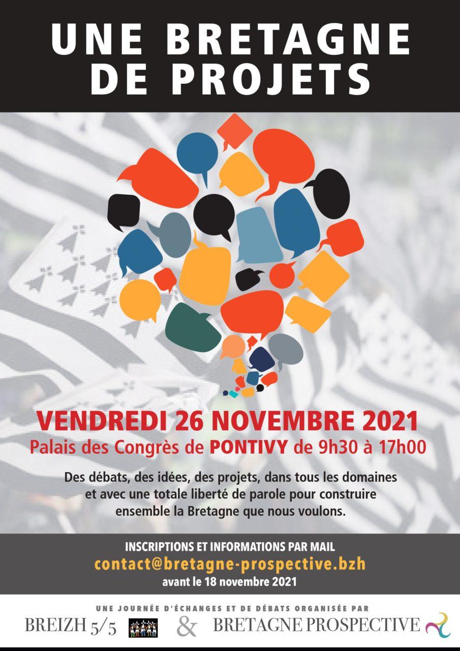Une Bretagne de projets : vendredi 26 novembre à Pontivy